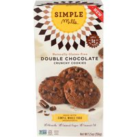 Simple Mills Crunchy Double Chocolate Cookies