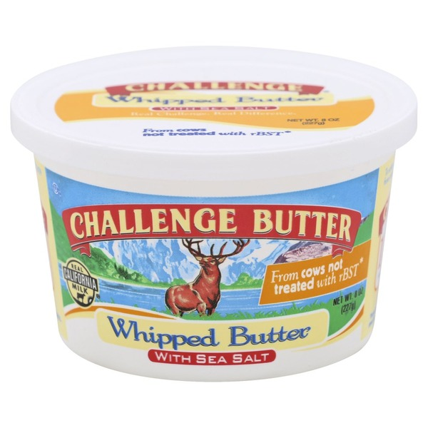 Challenge Butter, Whipped, with Sea Salt
