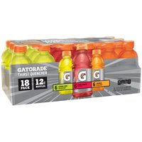 Gatorade Thirst Quencher Variety Pack, 12 fl oz, 18 count