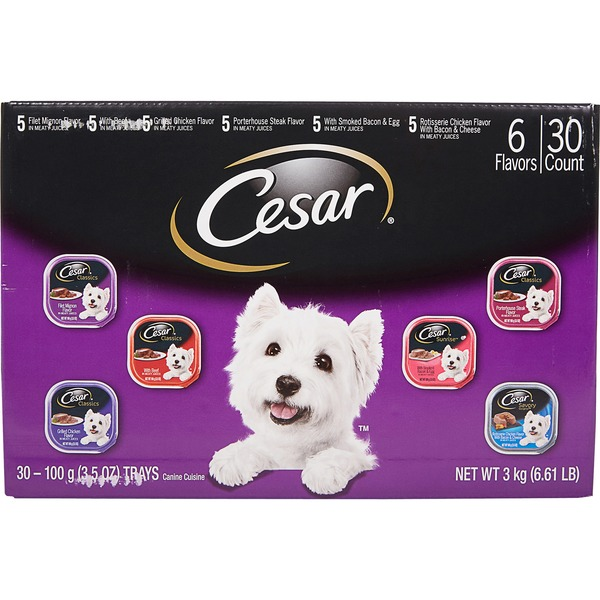 Cesar Canine Cuisine Variety 30 X 35 Oz From Costco In