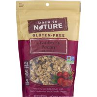 Back to Nature Granola, Gluten-Free, Cranberry Pecan