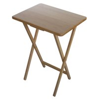 Mainstays Natural Tray Table