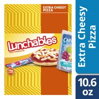 Lunchables Lunch Combinations Extra Cheesy Pizza, 10.6 oz Box