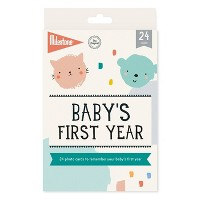 Milestone Baby's First Year Photo Cards - 24pc