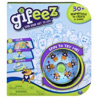 Gifeez, Spinning GIF Art Studio, Creates Over 30 Custom Animations, for Kids Aged 6 and up