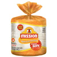 Mission White Corn Tortillas, 80 Count