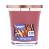 Better Homes & Gardens Scented Jar Candle, Spicy Cinnamon Stick, 17 oz., Single