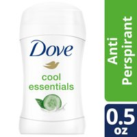 Dove Advanced Care Antiperspirant Deodorant Cool Essentials, Travel Size, 0.5 oz