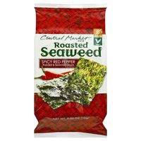 Central Market Spicy Red Pepper Roasted Seaweed