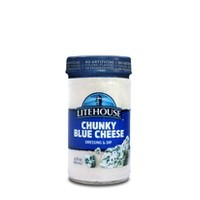 LiteHouse Chunky Bleu Cheese Dressing &  Dip 13 oz