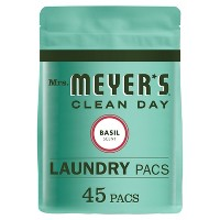 Mrs. Meyer's Clean Day Basil Scent Laundry Detergent Pacs - 28oz