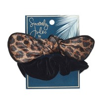 Sincerely Jules by Scunci Cheetah Scunchie with Bow - 2pk