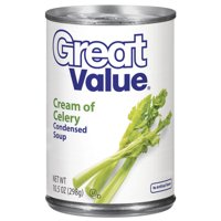 Great Value Cream of Celery Condensed Soup, 10.5 oz