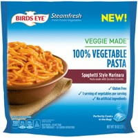 Birds Eye Steamfresh Marinara Frozen Veggie Made Spaghetti - 10oz