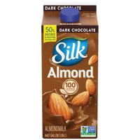 Silk Dark Chocolate Almondmilk, Half Gallon