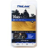 "TriLink 14"" Saw Chain, S52, 2 Count"