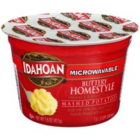Idahoan Buttery Homestyle Mashed Potatoes - Gluten-Free, Real Idaho Potatoes - 1 Cup (1.5-Ounces)