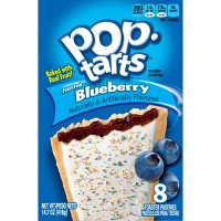 Pop-Tarts Frosted Blueberry Toaster Pastries - 8ct/13.54oz - Kellogg's