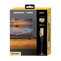 Monster Ultra HD Gold HDMI 2.0 Cable – 25ft