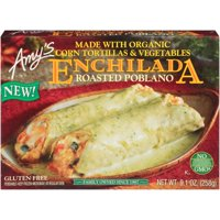 Amy's Roasted Poblano Enchilada, Non GMO, 9.1-Ounce