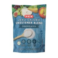H-E-B Zero Calorie Granulated Sweetener Blend