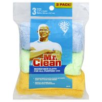 Mr. Clean Cloth, Microfiber, 3 Pack!