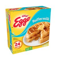 Kellogg's Eggo Frozen Buttermilk Waffles Easy Breakfast 29.6 oz 24 ct