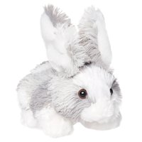 Way to Celebrate Easter Large Natural Bunny Plush Toy- Gray