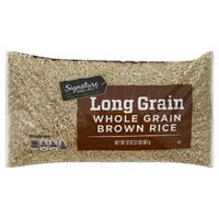 Signature Kitchens Long Whole Grain Brown Rice