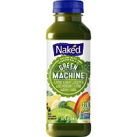 Naked Green Machine All Natural Fruit + Boosts Juice Smoothie - 15.2oz