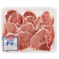 H-E-B Bone In Assorted Ends & Centers Pork Loin Chops