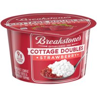Breakstone's Cottage Doubles Strawberry Cottage Cheese, 4.7 oz Cup
