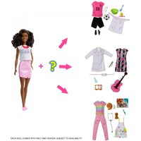 Barbie Careers Surprise Closet Doll & Accessories, Brunette