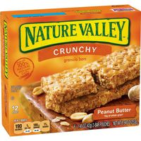 Nature Valley Granola Bars, Peanut Butter, Crunchy
