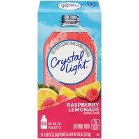 Crystal Light Raspberry Lemonade Drink Mix - 10pk/0.8oz