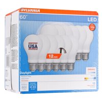Sylvania 60w Led Daylight 12 Pack