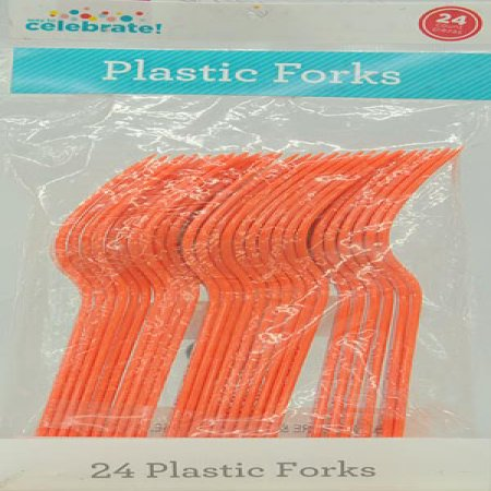 Celebrations Orange Forks