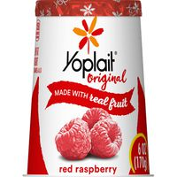 Yoplait Original Yogurt, Red Raspberry, Low Fat Yogurt