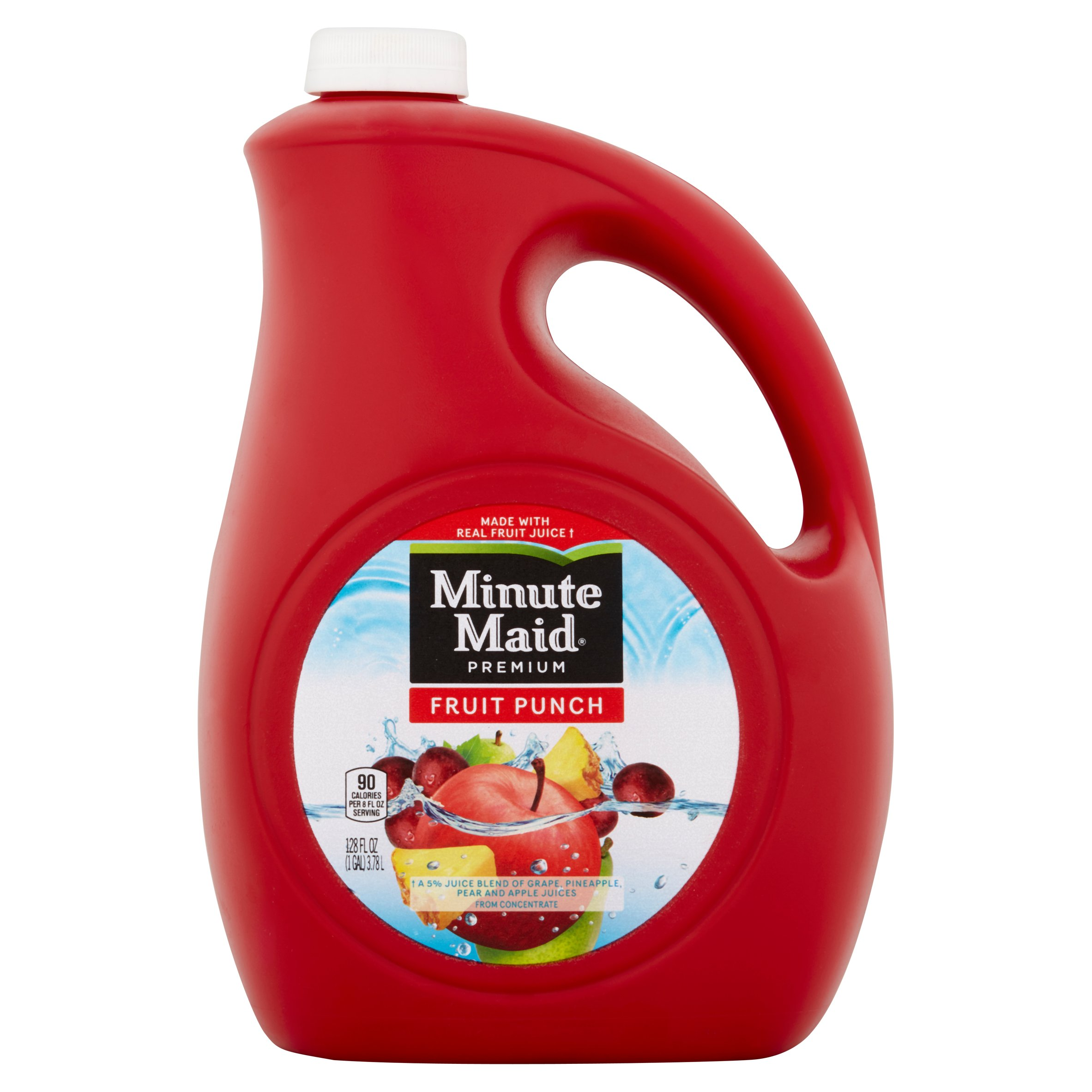 Minute Maid, Premium Fruit Punch, 128 Fl. Oz.