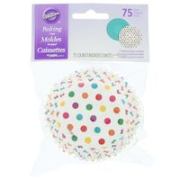Wilton Standard Bright Dots Baking Cups
