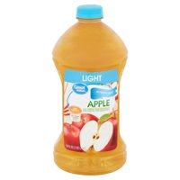 Great Value Light Apple Juice, 96 Fl. Oz.
