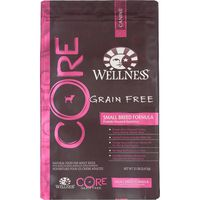 Wellness Core Small Breed Deboned Turkey, Turkey Meal & Chicken Meal Recipe Natural Food For Adult Dogs