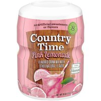 Country Time Pink Lemonade Flavored Powder Drink Mix