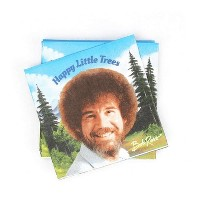 Prime Party Bob Ross Classic Beverage Party Napkins | 20 Pack