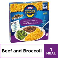 Kraft Mac and Cheese First Adventures Teriyaki Beef & Broccoli Frozen Dinner, 8.5 oz Box