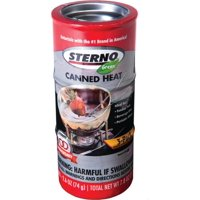 Sterno Canned Heat 2.6 Oz. 45-Minute Cooking Fuel, 3 Count