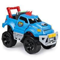 Demo Duke, Crashing and Transforming Vehicle with Over 100 Sounds and Phrases, for Kids Aged 4 and Up