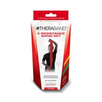 Thera Band Latex Free Beginner Resistance Bands