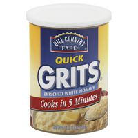 Hill Country Fare Quick Grits Enriched White Hominy