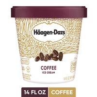 HAAGEN-DAZS Ice Cream, Coffee, 14 fl. oz. Cup | No GMO Ingredients | No rBST | Gluten Free